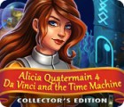 Alicia Quatermain 4: Da Vinci and the Time Machine Collector's Edition spil
