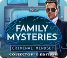 Family Mysteries: Criminal Mindset Collector's Edition spil
