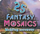 Fantasy Mosaics 25: Wedding Ceremony spil