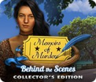 Memoirs of Murder: Behind the Scenes Collector's Edition spil