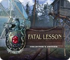 Mystery Trackers: Fatal Lesson Collector's Edition spil