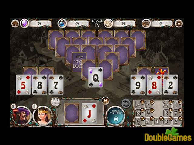 Gratis download Kingdom Builders: Solitaire screenshot 1