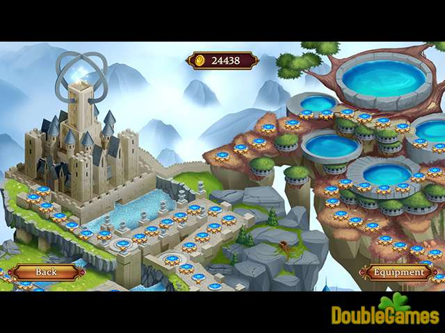 Gratis download Solitaire: Elemental Wizards screenshot 3